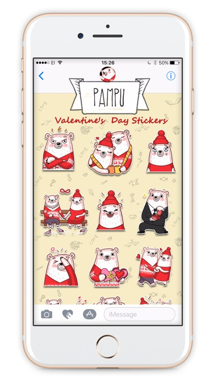 Pampu Love stickers screenshot-3