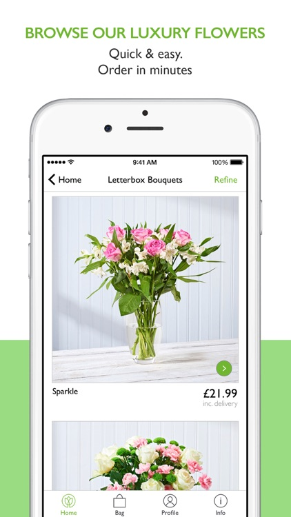 Postabloom: Fresh Flowers. Free UK Delivery