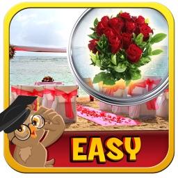 Rose Wedding Hidden Objects Game
