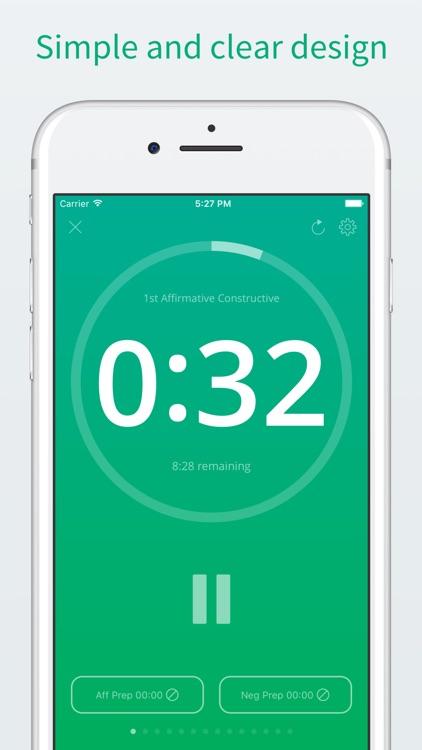 Timekept - Universal & Simple Debate Timer