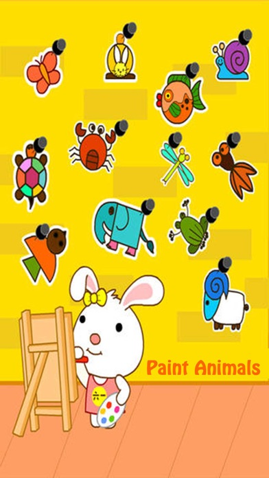 Paint Animals : Draw for Kids - Coloring Book screenshot one