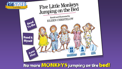 Five Little Monkeys Jumping On The Bed review screenshots