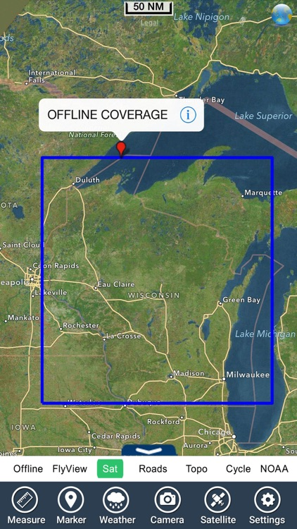 Wisconsin Lakes HD GPS Charts screenshot-4