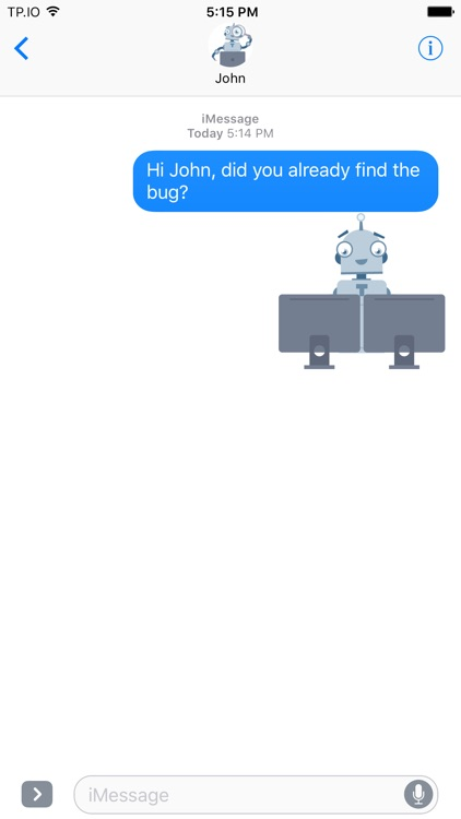 Lil' Robots Sticker