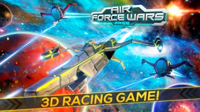 Air Force Wars . The Star Craft Flying & Shooting Screenshot on iOS