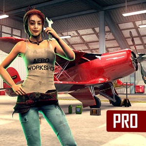 Air Plane Mechanic Garage Pro