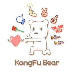 KongFu Bear - NHH Animated Stickers