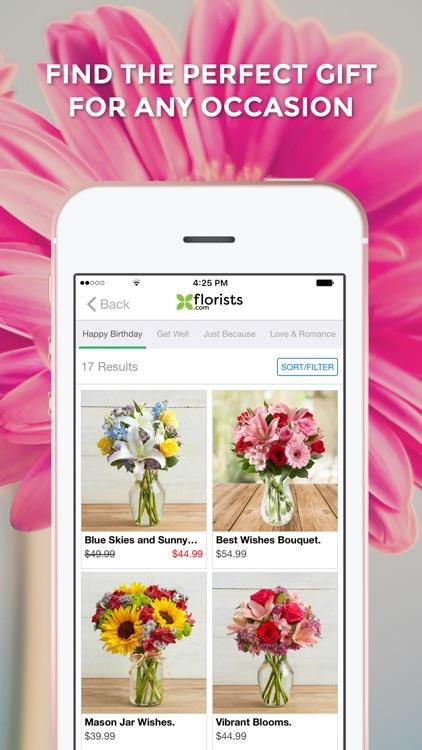 Florists: Fruit Arrangements & Flowers screenshot-3
