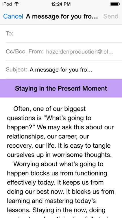 Language of Letting Go: Codependency Meditations screenshot-4