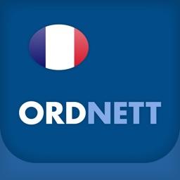 Ordnett - French Blue Dictionary