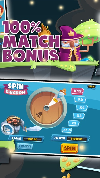 Spin Kingdom by mFortune screenshot four