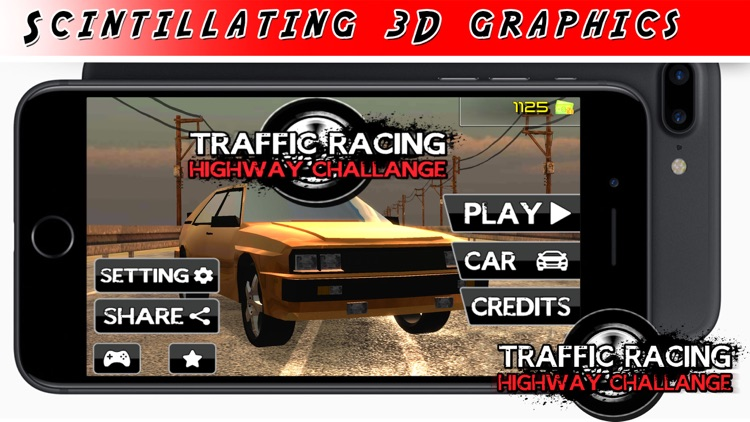 Highway Traffic Racing - Rivals Speed Car Racer