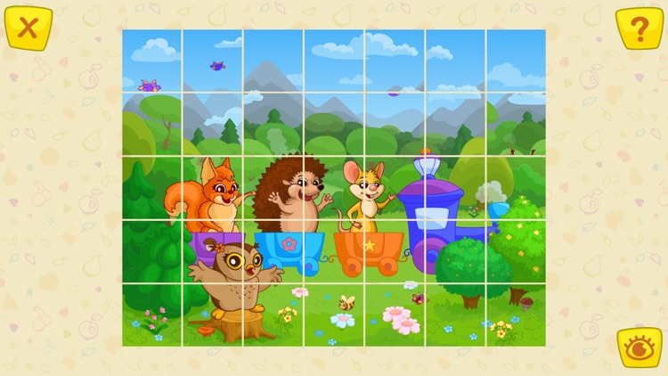 Animals Jigsaw Puzzle - games for kids