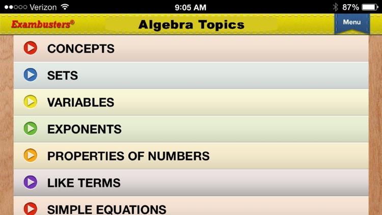 ACT Math Prep Flashcards Exambusters