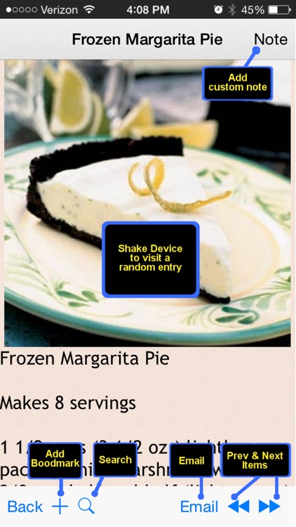 400 Freezable Recipes screenshot-4