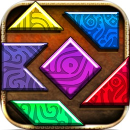 maya tangram puzzle games for kids - pattern lock