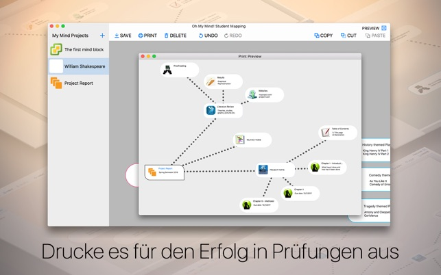 Oh My Mind! Student Mapping - Ideen Visualisieren Screenshot