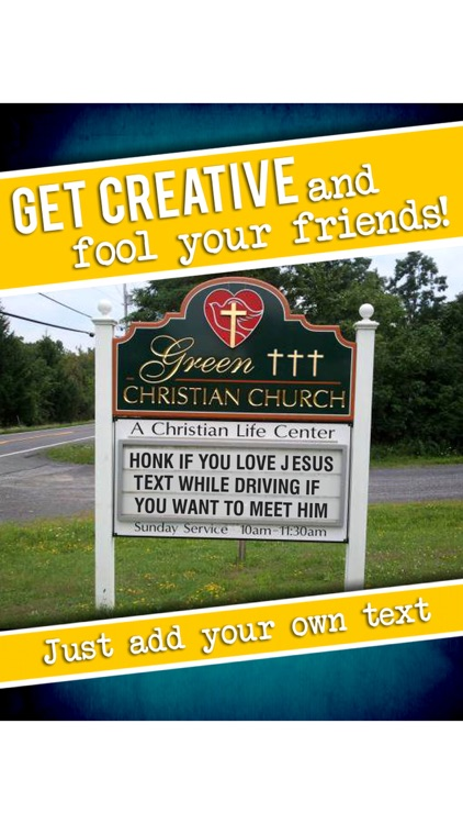 Fun Signs - Trick your friends with fake signs!