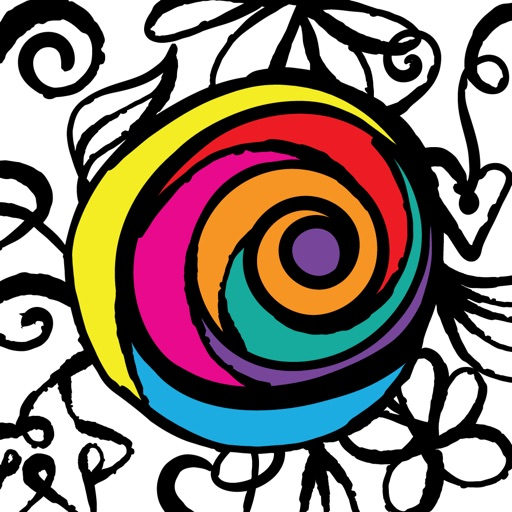 PrismaJoy Coloring Book for Adults - Art Therapy
