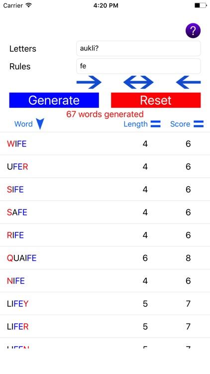 Word Generator Robot By Salih Bektas