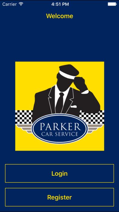 Parker Car Service screenshot one