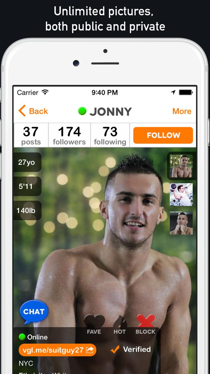 VGL - gay twink & jock guys chat, meet & date Screenshot
