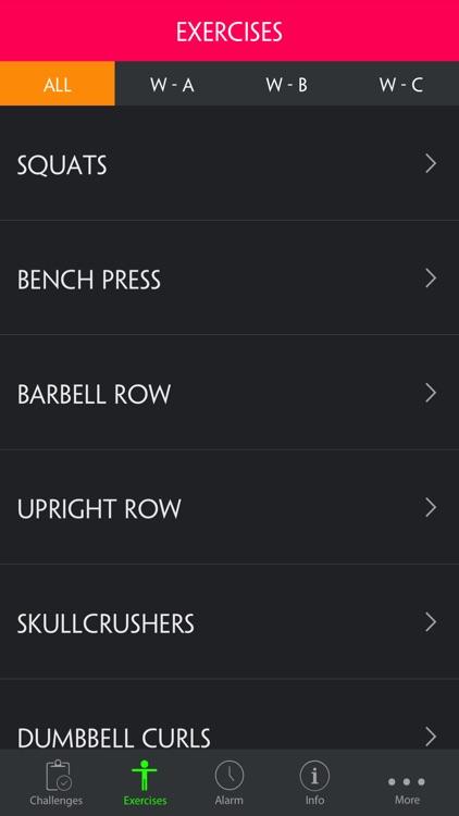 Muscle & Strength Full Body Workout Routine Pro screenshot-3