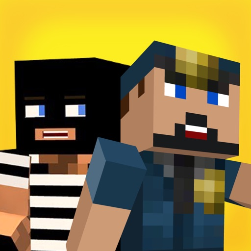 COPS & ROBBERS(JAIL PRISON BREAK) FOR MCPE - Addon