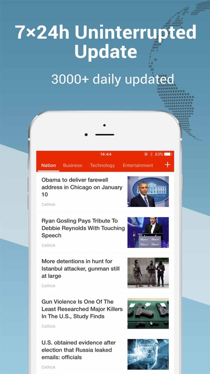 Top Story Pro: breaking news of the world screenshot-4