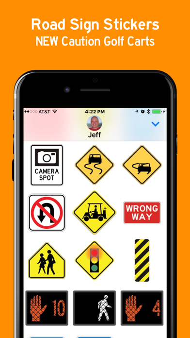 Road Signs Sticker Pack screenshot two