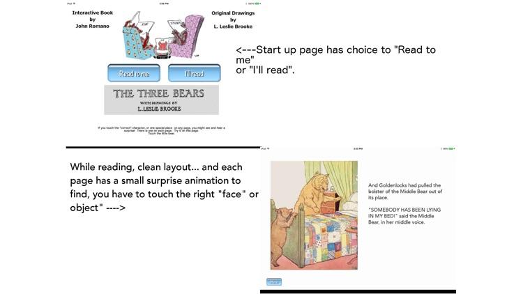 The Three Bears Interactive