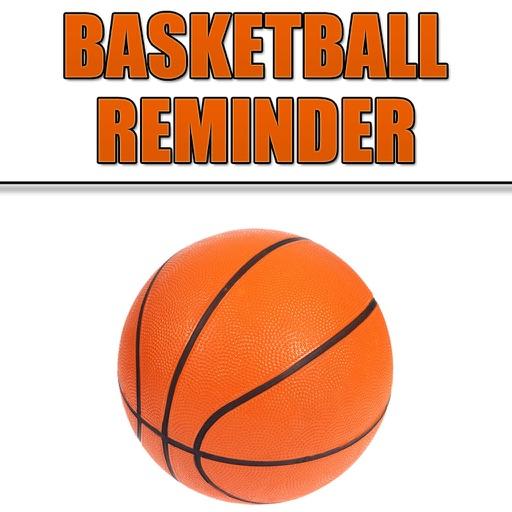 Basketball Reminder App - Stundenplan Ablaufplan Reminders-Sport