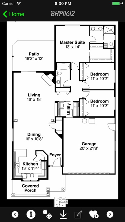 Bungalow House Plans Guide + screenshot-0