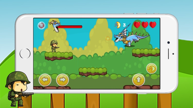 Super Soldier Shooting vs Aliens screenshot-3