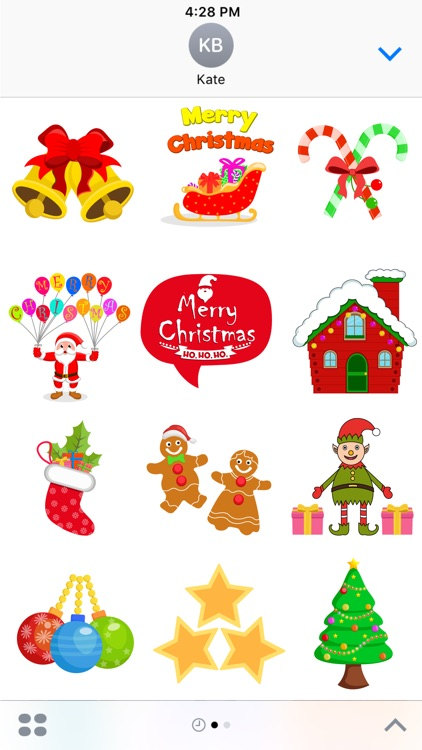 Christmas Celebration Stickers Pack