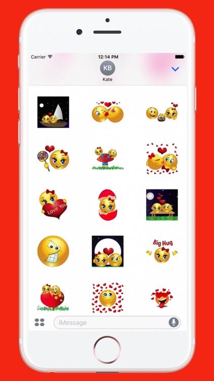 Flirty Sticker for iMessage screenshot-4