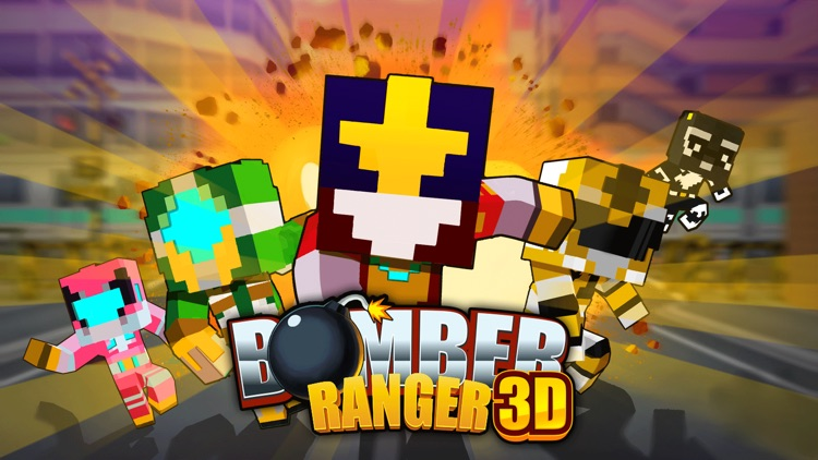 Bomber Rangers 3D Game screenshot-0