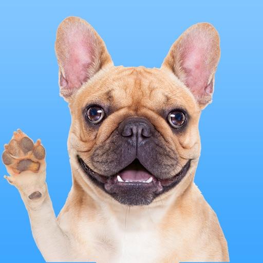 FrenchieLoveMoji Stickers & Keyboard for Bulldogs