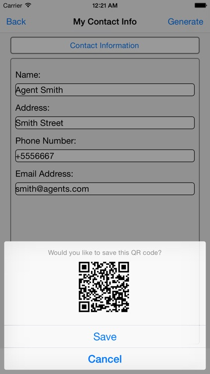 QR Code Maker screenshot-3