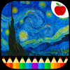 Van Gogh Paintings - Coloring Book for Adults