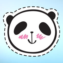 Panda Bear Patches Sticker Pack