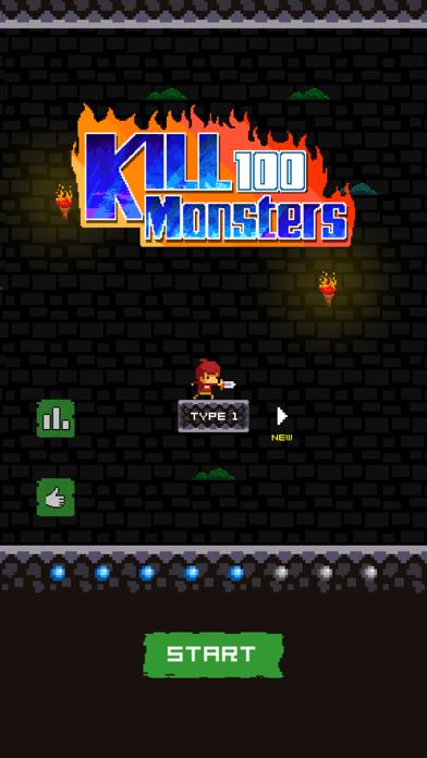 kill 100 monsters screenshot one
