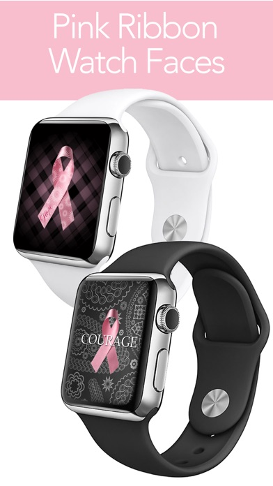 Download Pink Ribbon Watch Faces - Backgrounds & Wallpaper