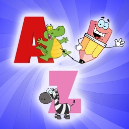 kids A-Z alphabet tracing reading