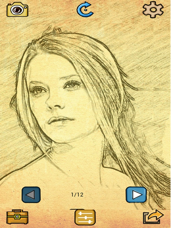 Photo Sketch - Doodle Effects-ipad-0