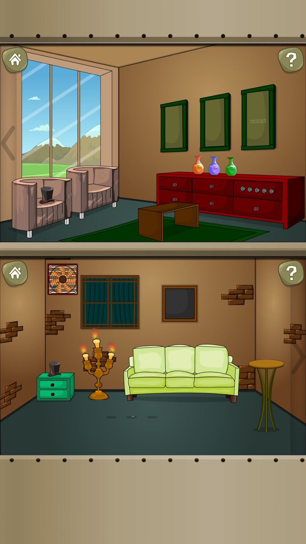 Escape the Room 3:Chamber Escapist Games Cheat Codes