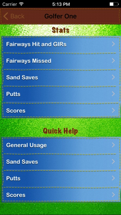 Golf Score On The Fly screenshot-3