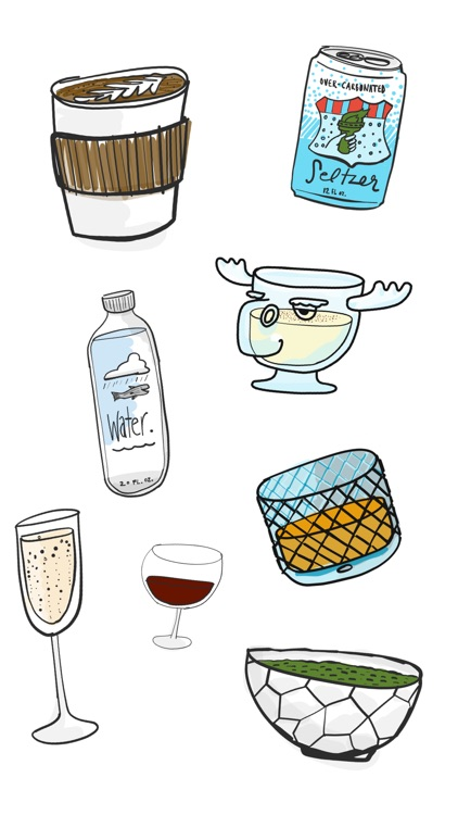 Drinks Stickers