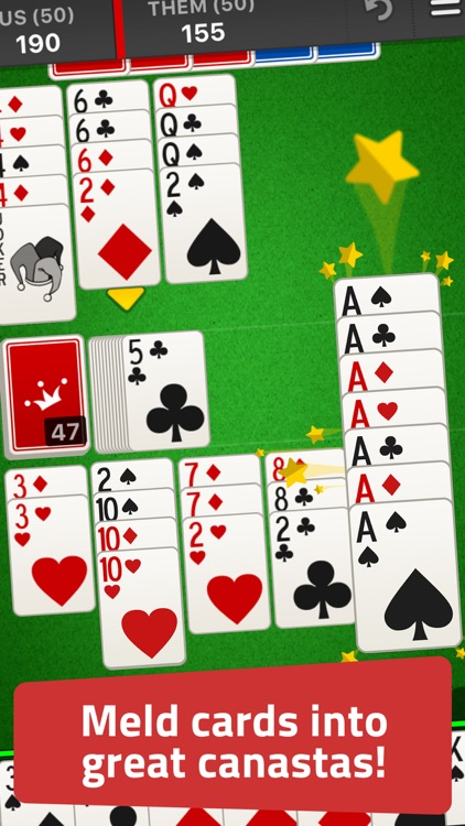 Canasta: Classic Card Game screenshot-0