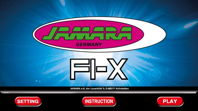 Jamara F1-X Screenshot